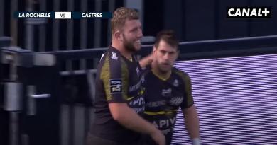 41-3 à la pause, triplé pour Retière, la Rochelle en balade face à Castres [VIDEO]