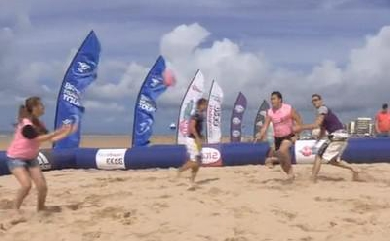 Beach Rugby Tour : 5�me �tape � St Jean de Monts