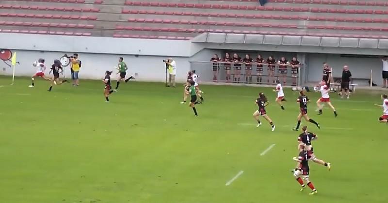 Marjorie Mayans initie une superbe action de 95 mètres pour Blagnac [VIDEO]