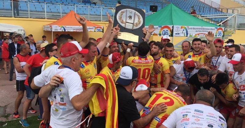 RUGBY AMATEUR : les Pyrénées Orientales décrochent le bouclier au Championnat de France des Sapeurs Pompiers