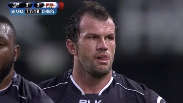 VIDÉO. Super Rugby : 3 cartons rouges en 30 minutes lors du match entre les Sharks et les Chiefs