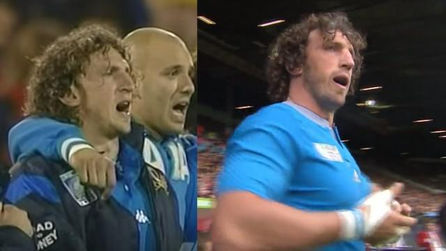 VIDEO. L'hommage du public à Mauro Bergamasco pour sa 5e Coupe du monde