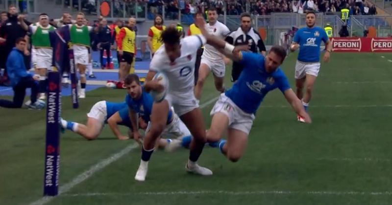 VIDÉO. 6 Nations 2018 : l'Angleterre déroule et inscrit un magnifique essai par Anthony Watson face à l'Italie