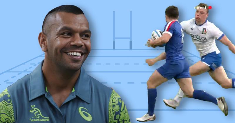 6 Nations 2021. Le jeu du XV de France ? ''Un rugby positif'', analyse Kurtley Beale