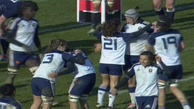 RESUME VIDEO. 6 Nations : France féminines régale et déroule face à l'Ecosse (42-0)
