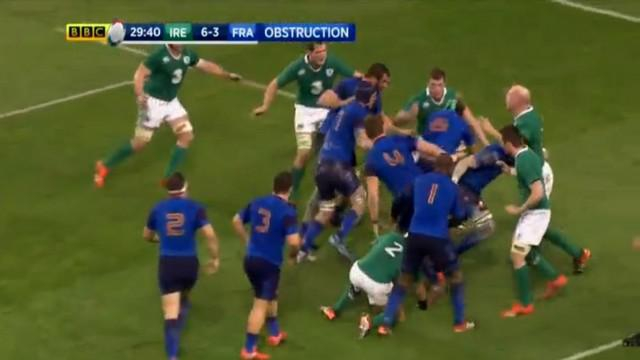 VIDEO. 6 nations. L'Irlande enfume le XV de France avec une très belle air défense