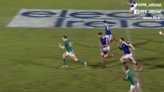 RESUME VIDEO. 6 nations U20. Les Bleuets chutent lourdement en Irlande