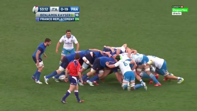 VIDEO. 6 nations. XV de France. La mêlée française impose sa puissance en Italie