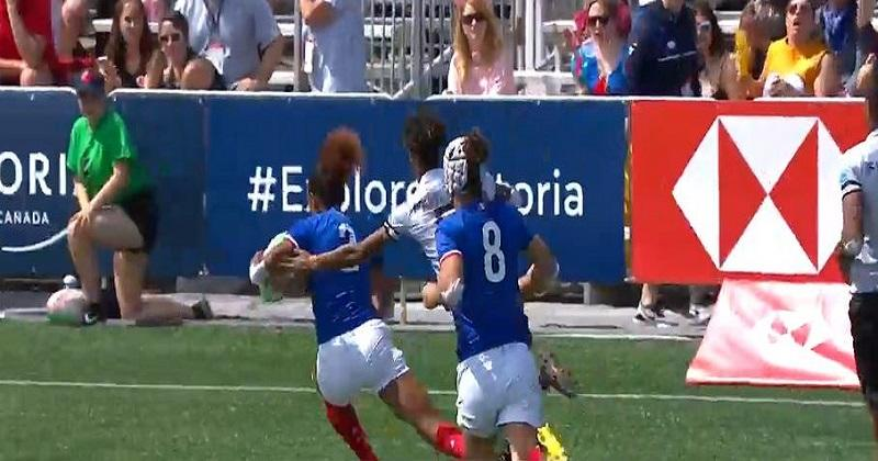 Langford 7s - France 7 Féminines file en quart au Canada