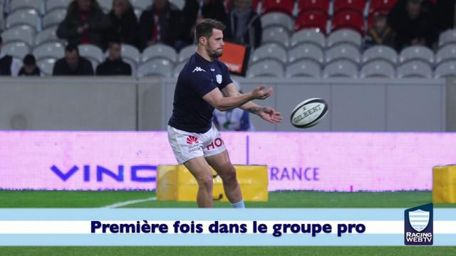 VIDEO. Top 14 - Racing 92. A la rencontre de la pépite francilienne Arthur Retière