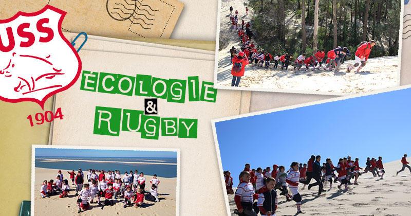 À Salles, le développement durable est au cœur de l'école de rugby