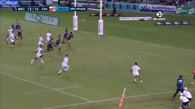VIDEO. Super Rugby. Aaron Cruden impérial pour la fessée des Chiefs aux Brumbies