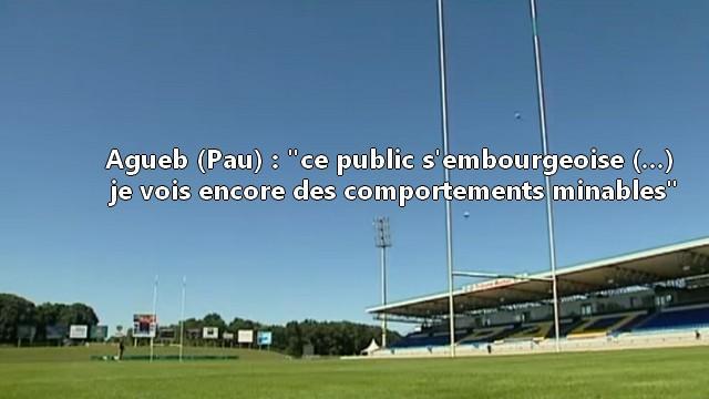 VIDEO. L'ancien Palois Abder Agueb recadre les supporters après la défaite face à Toulon