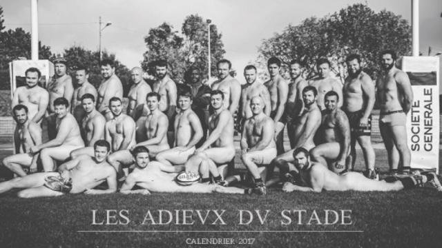 Un calendrier dénudé en guise d'Adieux à leur Stade