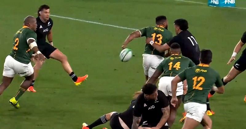 VIDEO. OUI les Springboks savent faire des passes : admirez ce bijou de Lukhanyo Am dans le dos !