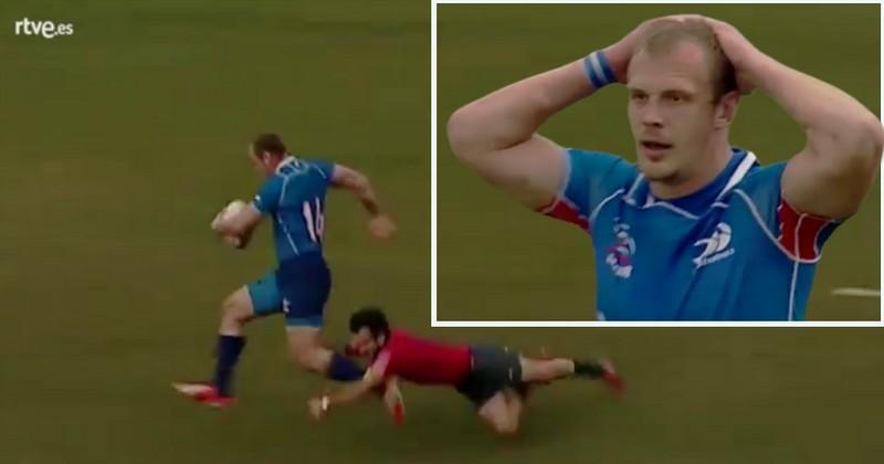 Rugby Europe Championship - L'Agenais Lucas Rubio sauve sa patrie face à la Russie [VIDÉO]