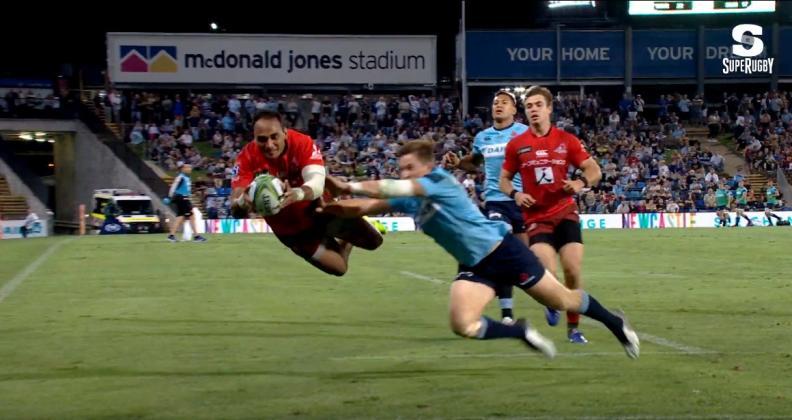 Super Rugby - Succès historique des Sunwolves sur les Waratahs après le triplé de Masirewa [VIDÉO]