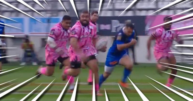 Top 14 - La magnifique percée du pilier d'Alo-Emile pour l'essai du Stade Français [VIDEO]