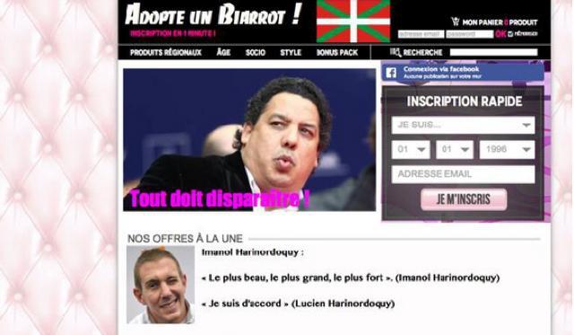 Top 14 : Serge Blanco inscrit ses joueurs sur Adopte un Biarrot.com