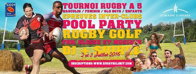 Le Rugbynistère fera son tournoi de Rugby No Limit le 2 et 3 Juillet à côté de Toulouse