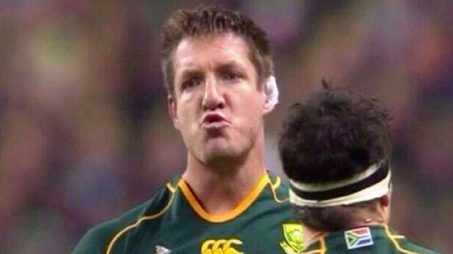 Afrique du Sud : Bakkies Botha annonce la fin de sa carrière internationale