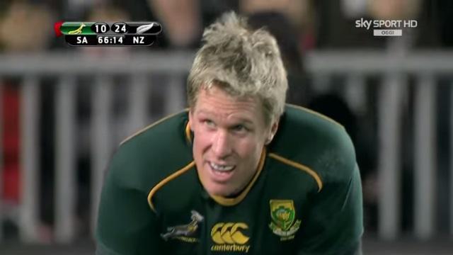 AFRIQUE DU SUD. Jean de Villiers de retour face à World XV, 1ère sélection pour Jesse Kriel