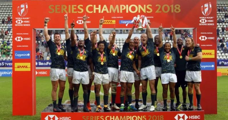 VIDÉO. L'Afrique du Sud rafle le Paris Sevens... et remporte sur le fil les World Series 2017/2018 !