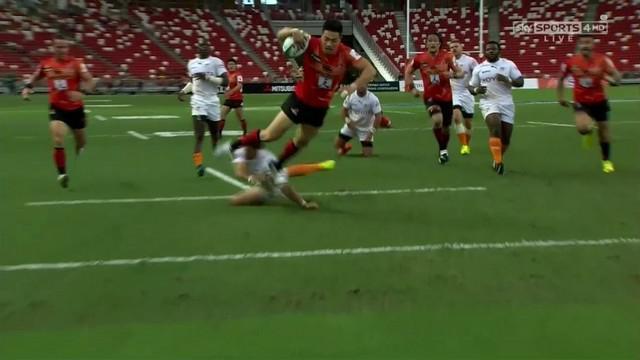 VIDEO. Super Rugby. Akihito Yamada s'envole pour un triplé en 30 minutes face aux Cheetahs