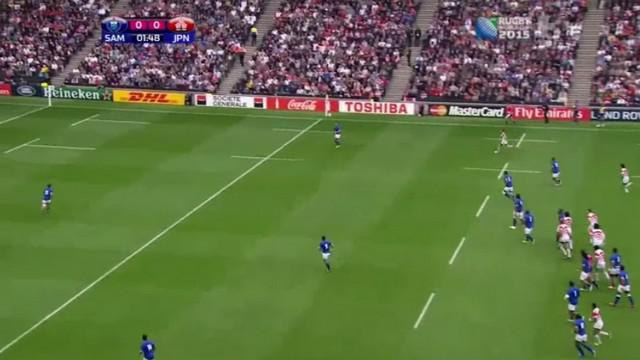 PHOTOS. Coupe du monde terminée pour Alesana Tuilagi, suspendu 5 semaines pour un coup de genou