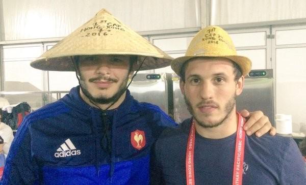 INSOLITE. Quand le joueur de Mauléon Alexandre Loustaunau se retrouve sur le banc de France 7 à Hong Kong