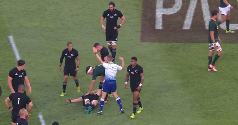 All Blacks : le coup dur pour Sam Cane, victime d'une grave blessure au cou
