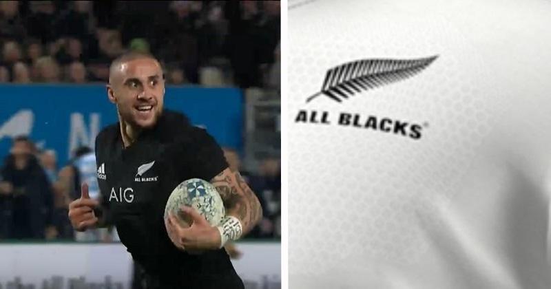 All Blacks : le nouveau maillot extérieur dévoilé... et il est blanc !