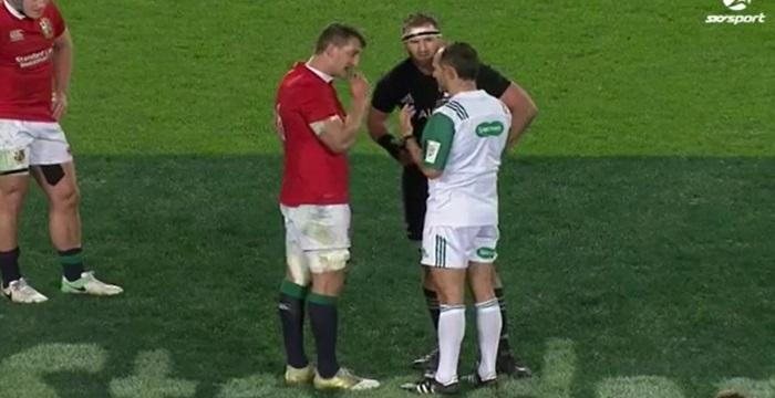 VIDEO. ALL BLACKS vs LIONS : Romain Poite a-t-il pris la bonne décision à la 78ème minute de jeu ?