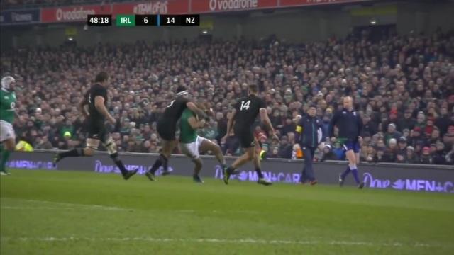 VIDEO. XV de France - All Blacks : Malakai Fekitoa suspendu face aux Bleus pour un plaquage dangereux