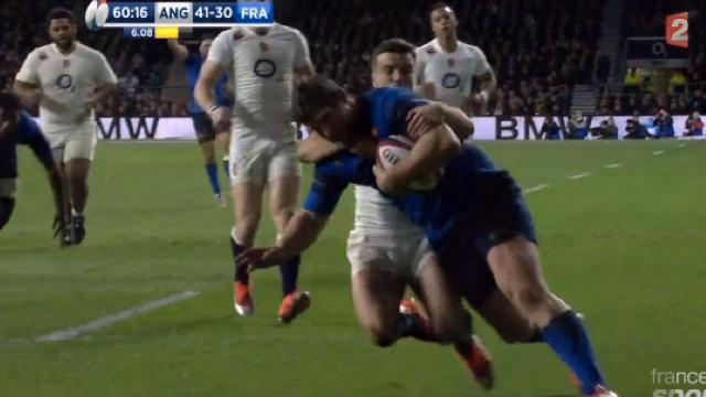 VIDEO. Coupe du monde - Amical. Vincent Debaty impressionne avec le XV de France face à l'Angleterre