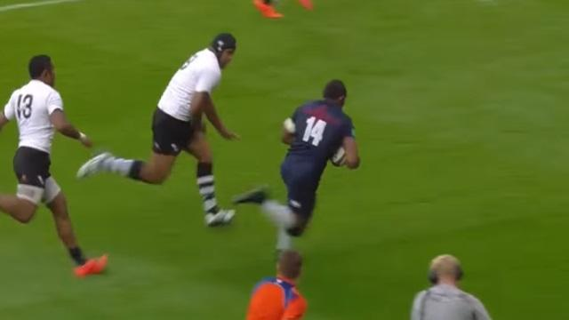 VIDEO. L'Angleterre régale avec le magnifique essai de Semesa Rokoduguni face aux Fidji