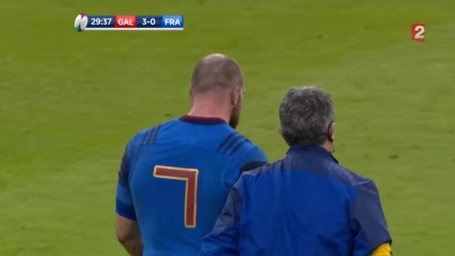 6 Nations - XV de France : Antoine Burban forfait contre l'Ecosse, Kevin Gourdon rappelé