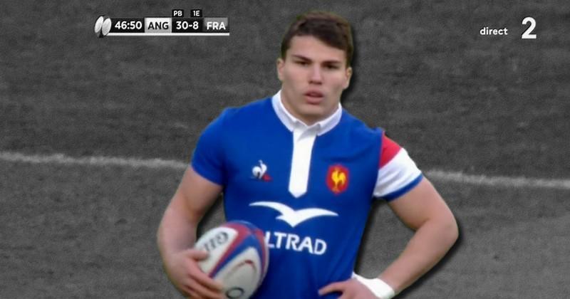 6 Nations - Antoine Dupont s'incruste dans l'équipe type de la 2e journée