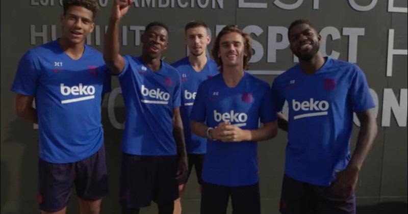 Antoine Griezmann et les Français du Barça envoient un message au XV de France ! [VIDEO]