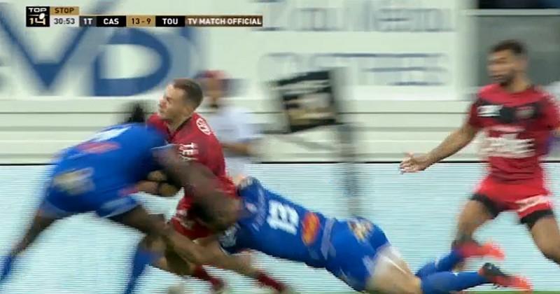 ARBITRAGE. Top 14. Filipo Nakosi devait-il recevoir un carton face à Toulon ?