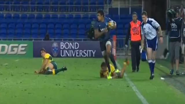 VIDÉO. Australie / Argentine : Manuel Montero efface trois joueurs pour marquer tout en puissance