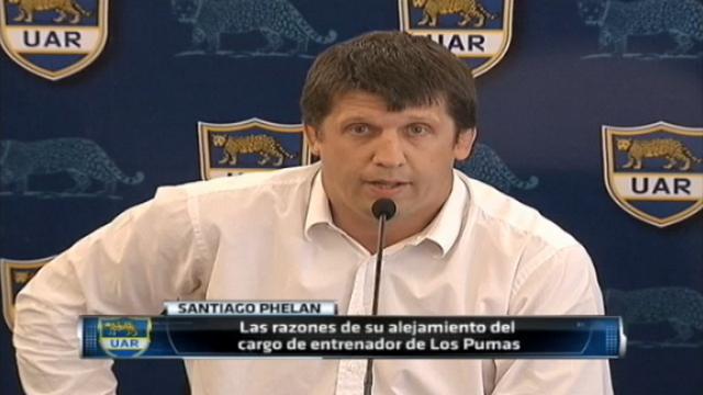 Argentine : Santiago Phelan évoque la trahison de certains joueurs