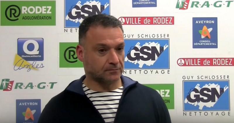 Arnaud Vercruysse, entraîneur de Rodez : ''Louis Fajfrowski a fait trois arrêts cardiaques''