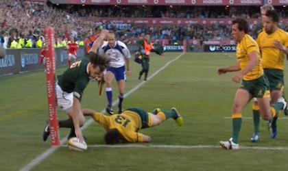 Le Springbok Zane Kirchner s'engage au Leinster