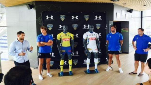 L'ASM Clermont Auvergne dévoile ses nouveaux maillots camouflage pour la saison 2015-2016