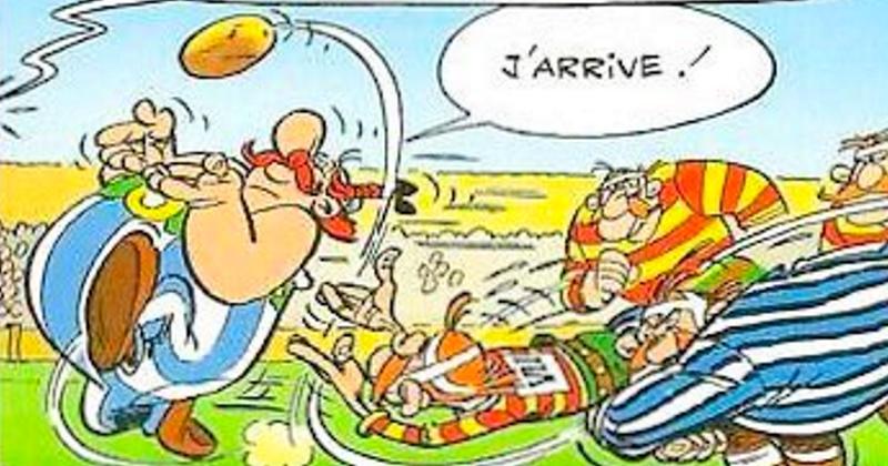 ASTÉRIX - Si les personnages de la BD étaient des rugbymen