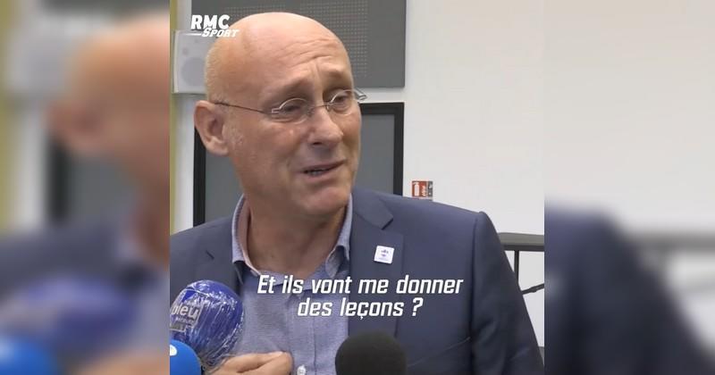 Au bord des larmes, Laporte allume Florian Grill après sa garde à vue [VIDEO]