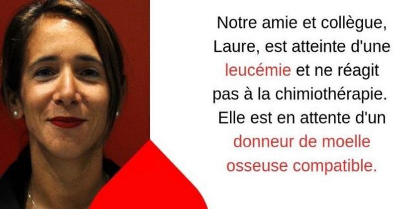 Au soutien de Laure, le monde du rugby lance un appel pour la recherche d'un donneur de moelle osseuse