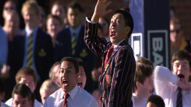 Auckland Grammar vs King's College : Un des plus beaux haka !