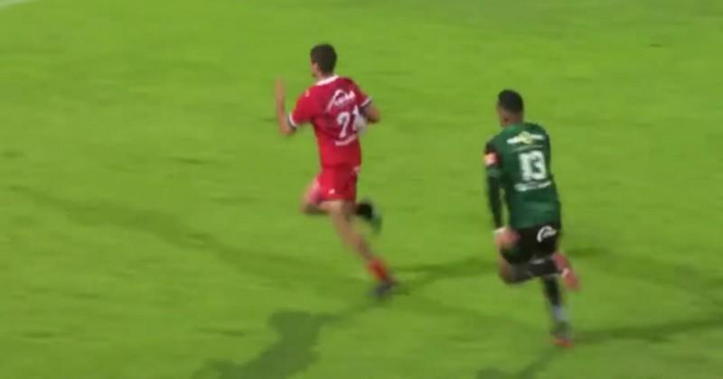 Pro D2 - Aurillac en mode Super Rugby face à Montauban pour un essai de 90m [VIDEO]